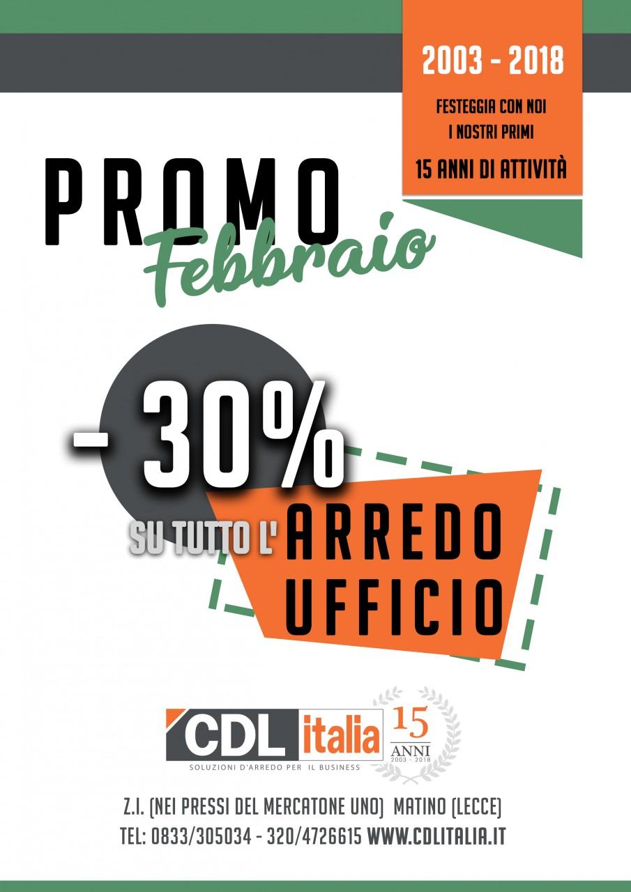 Cdl italia arredo febbraio pazzo a lecce offerte e sconti for Arredo ufficio economico