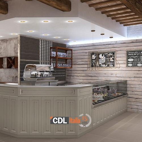 Cdl italia arredo arredamento per panetteria caffetteria for Arredamento panetteria